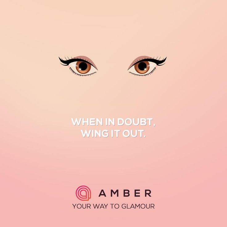 Get the perfect #winged #eyes only with Amber. Get your beta- invite today at http://getamber.com
