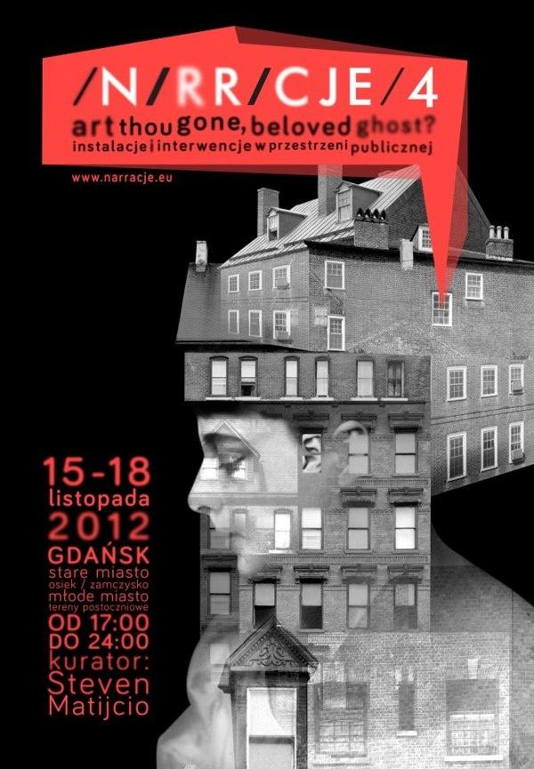 Narracje Festival - corporate identity. by Bang Bang Design Studio , via Behance