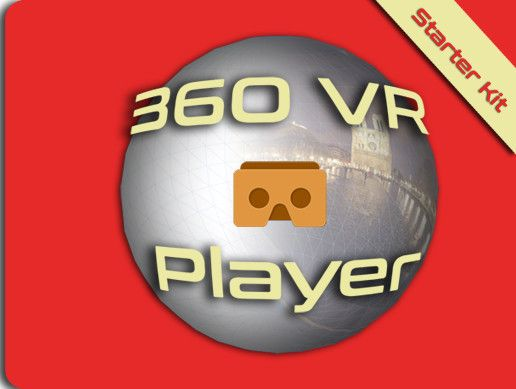 360 VR Player is the perfect base to start a VR project which is using 360° images or videos, I tried to make something easy to use even if you're not a developer.  It contains : - a spherical screen. - a camera, controllable with keyboard, mouse and gyroscope for mobile. - an UI (an interactive reticle, a curved screen and a look at based interactive UI). - a Fade in/out system. - a documentation with tutorial and tips to easy add Google Cardboard and GearVR.  I used it for Google Cardb...