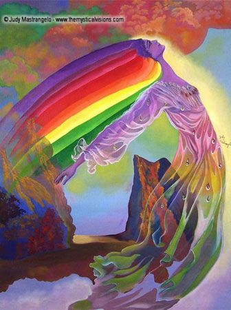 Iris Goddess Of The Rainbow | IRIS, GODDESS OF THE RAINBOW