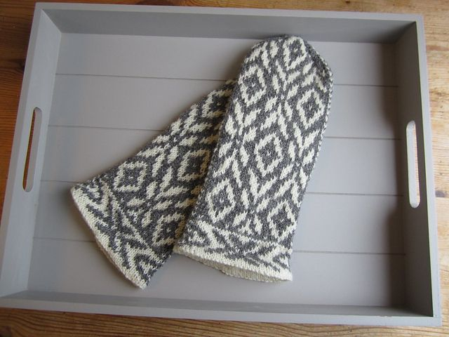 Ravelry: Project Gallery for Denver Mittens pattern by Natalia Moreva