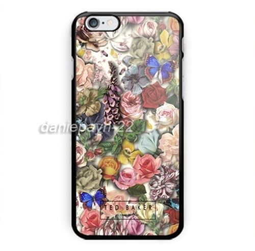 New-Rare-Ted-baker-Floral-For-iPhone-8-8-7-7-6-6-6s-6s-5-5s-Samsung-Case