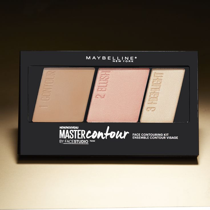 Contour Blush Highlight Go The All In One Maybelline