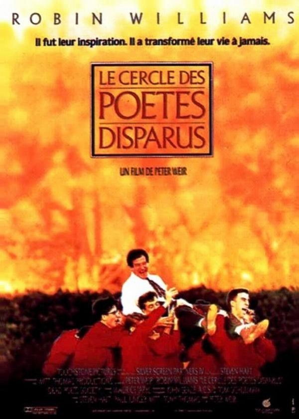 Affiche du film Le Cercle des poètes disparus The dead poets society poster in French. Magnifique.......