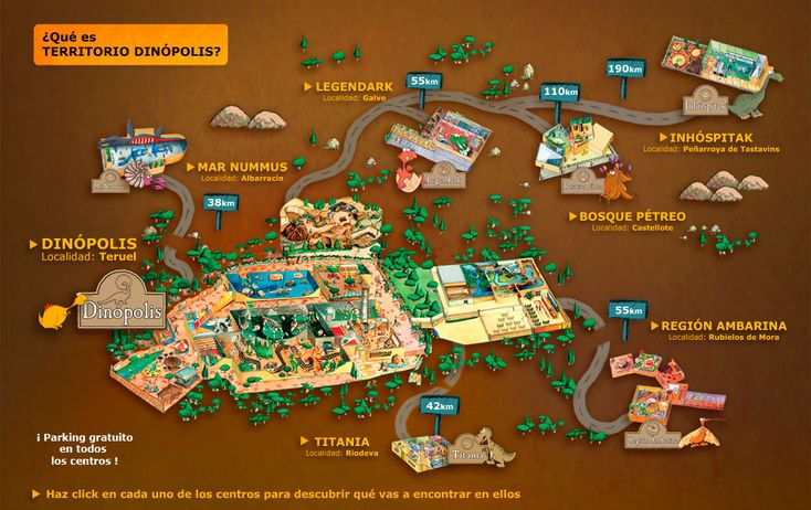 Territorio Dinópolis (Teruel) http://www.dinopolis.com/territorio-dinopolis.html
