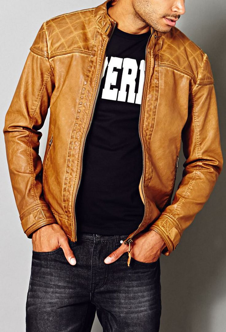 Bikers Zone Clothing Rustic Biker Jacket on