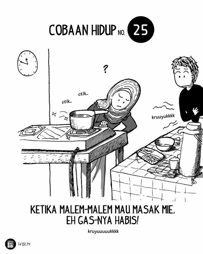 Komik Biebo: Cobaan Hidup No.25 by Komik Biebo