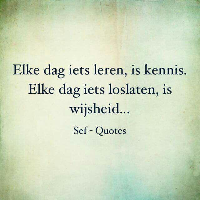 Wijsheid...
