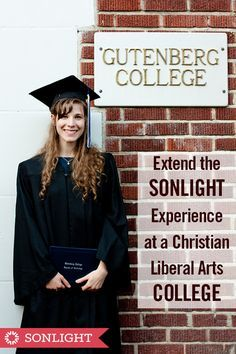 Extend the Sonlight Experience at a Christian Liberal Arts College • homeschool high school • post secondary education • #homeschooling • literature-based