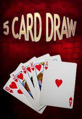 Fivecarddraw é um jogo em que jogadores são tratados de uma mão completa, escondida, em então melhorar substituindo cartões #bingoonline