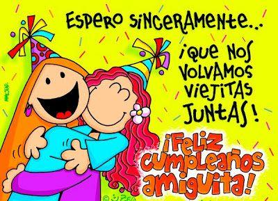 Espero que nos volvamos viejitas #cumpleanos #feliz_cumpleanos #felicidades #happy_birthday #tarta_cumpleanos #pastel_cumpleanos #birthday_cake