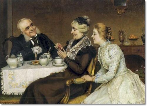 Albertina Palau, España Siglo XIX - The Joy Of Giving: