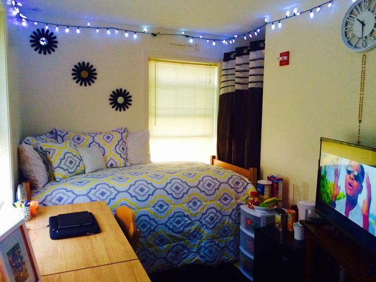 Single dorm room