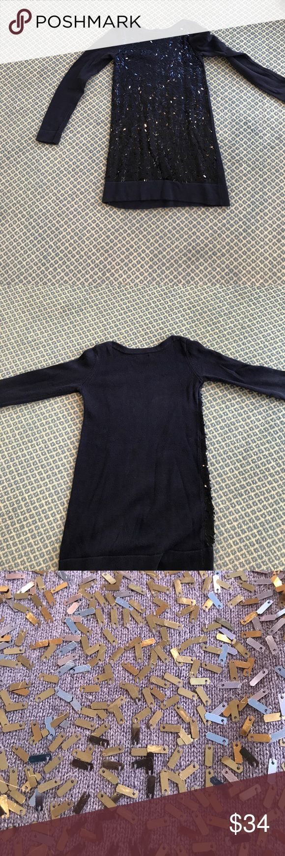 Gap Kids Dress Size 8M with sparkles and sequins. Navy blue sparkle dress for kids size 8. In great condition. GAP Dresses Casual
