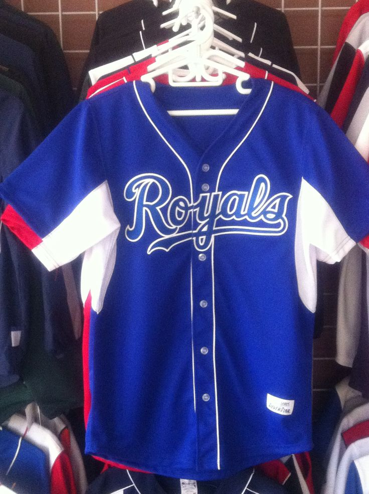 Royals custom uniform www.silverstar-sports.com Check us out!!