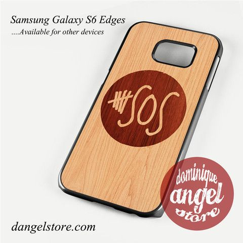 5 seconds of summer wood Phone Case for Samsung Galaxy S3/S4/S5/S6/S6 Edge