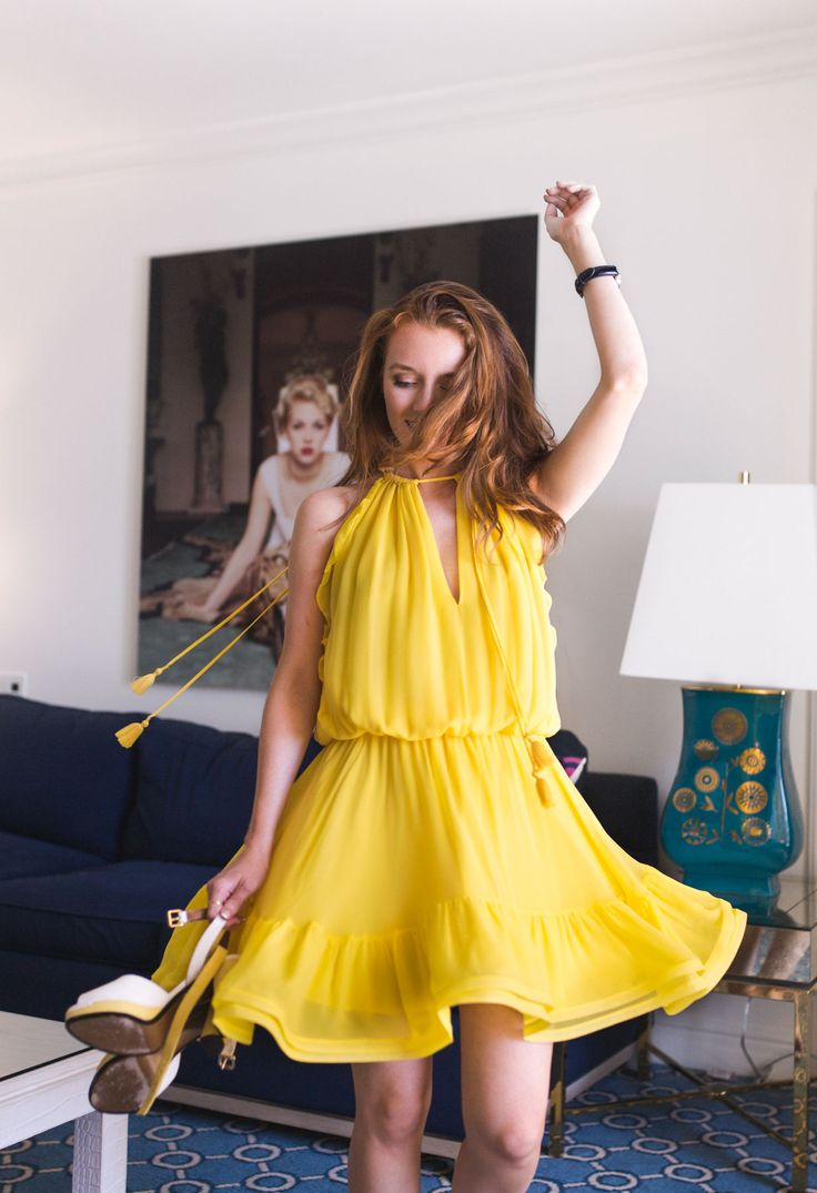 Best 25  Yellow party dresses ideas on Pinterest | Open back ...