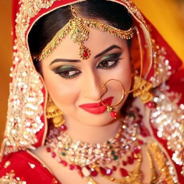Dulhan Bride Indian Pakistani Kundan Wow this picture
