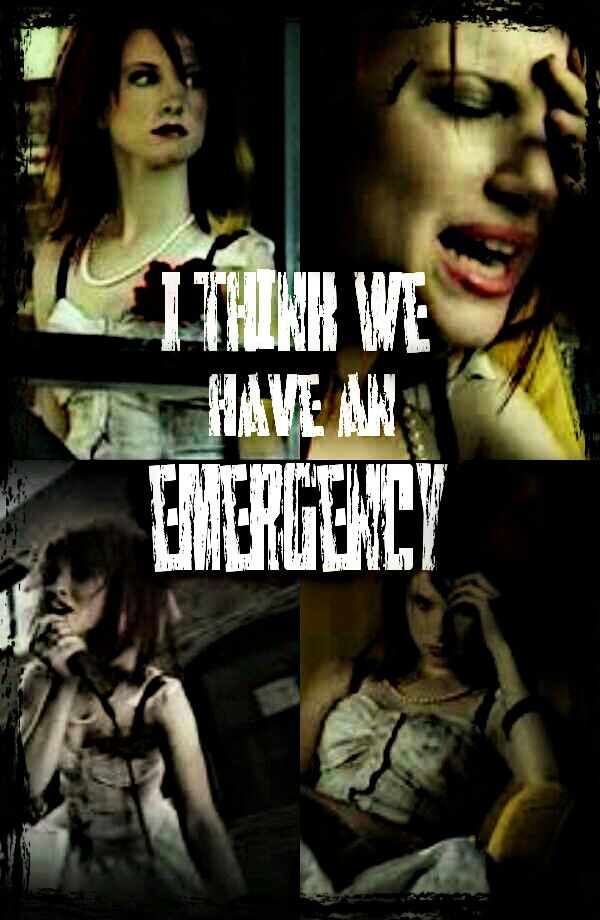 "Paramore Emergency ... Honestly, I REALLY miss this paramore. Don't get me wrong, the ""new paramore"" is great, but this one was amazing....And omf her out fit in that video. I want it so bad ;-; that dress is in the rock 'n' roll hall of fame actually :3"