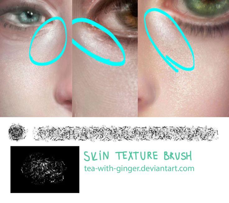 Skin texture brush by Tea-with-Ginger.deviantart.com on @deviantART