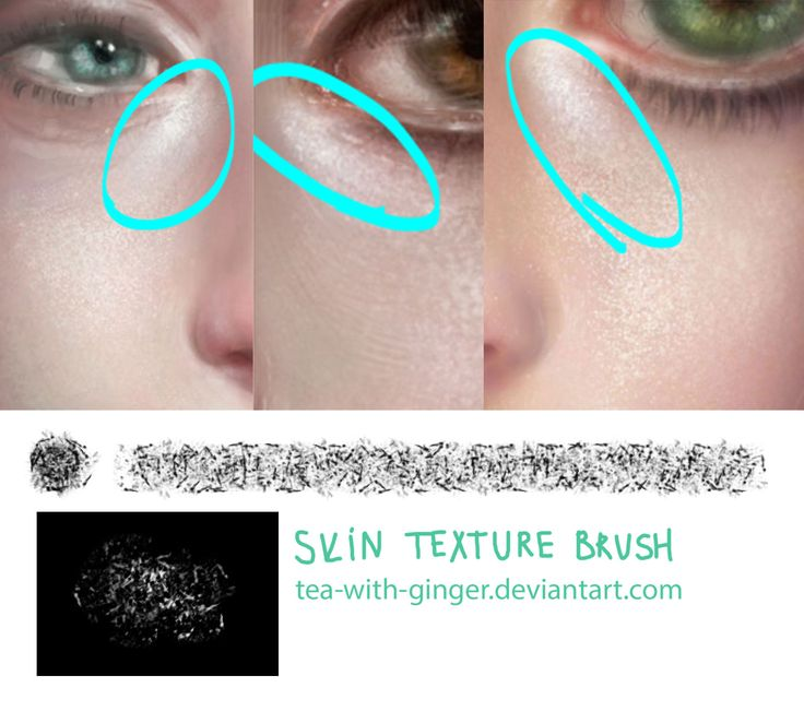 Skin texture brush by Tea-with-Ginger.deviantart.com on @deviantART