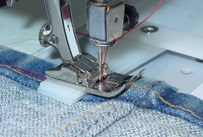 "How To Use a Seam Jack If you're sewing over bulky seams, a ""seam jack"" can be your best friend. A ""seam jack"" or ""jeans jack,"" can be purc..."