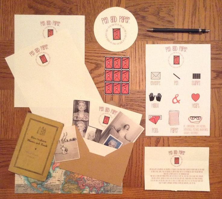 Brand Design, Pen and paper.