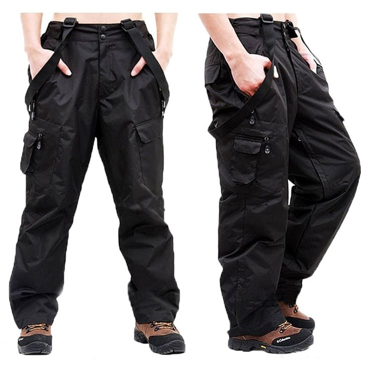 Winter Double Layer Men's Cargo Pants Warm Outdoor Sports Baggy Pants Cotton Trousers For Men Male Military Camouflage Tactical