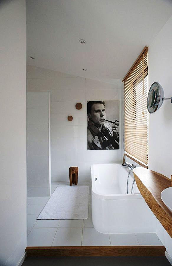 Badkamer met houten details - Optima jaren 60