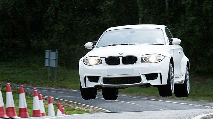 Flying BMW 1M