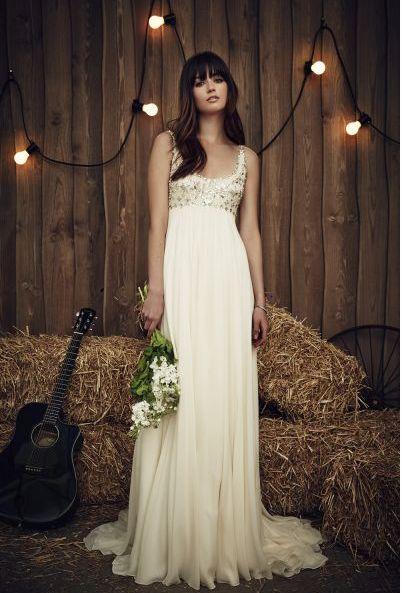 Abito da sposa Jenny Packham, abiti da sposa stile impero 2017