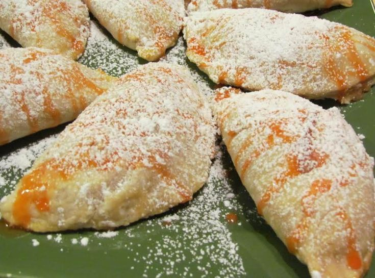 Amazing Peach Turnovers #peach #Turnovers #justapinchrecipes