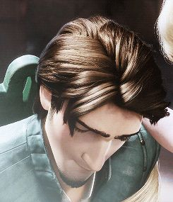 """And even with Flynn's smoldering good looks, their meet-cute wasn't a typical """"love at first sight"""" Disney story.   19 Reasons Rapunzel And Flynn Rider Are The Best Disney Couple"""