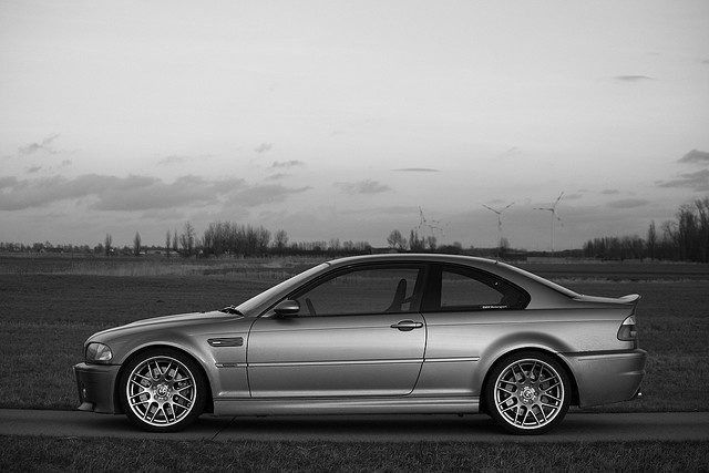 BMW M3 CSL E46  Not much into European cars, but this BMW is nice.