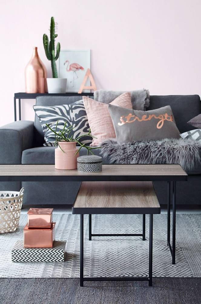 cool color trend copper and pink domino by httpwww