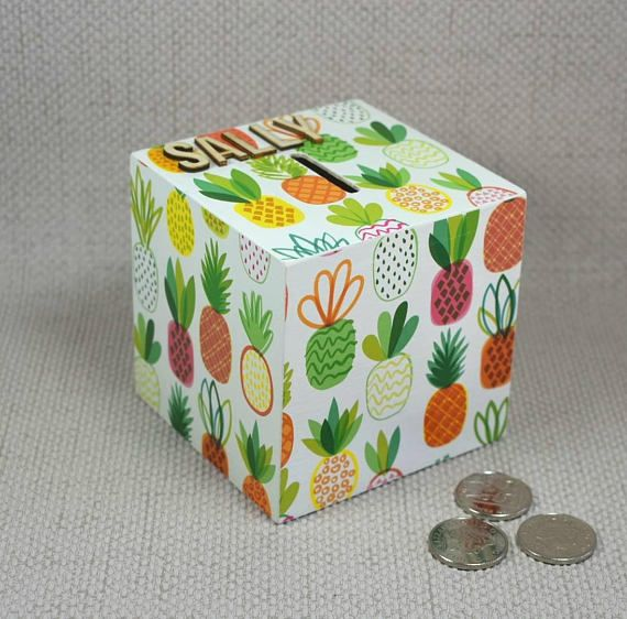 Hey, I found this really awesome Etsy listing at https://www.etsy.com/uk/listing/539135691/personalised-pineapple-money-box-summery