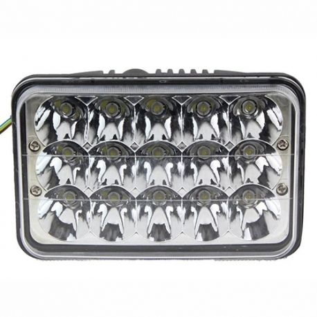 LED 4656 4''x6'' 45W LED Headlamp Replacement 12V 24V car truck