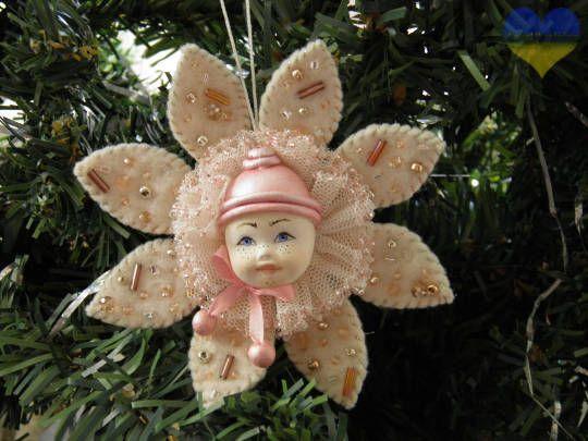 Snowflake Art Doll Waldorf Christmas Christmas Snowflake