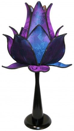 Sprouting Lotus Table Lamp - Jewel