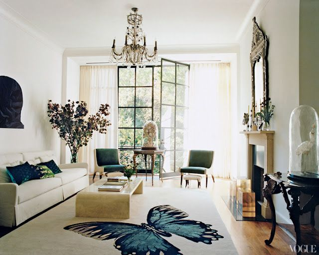 ... Familyu0027s Renovated Queen Anneu2013style Townhouse In Manhattan (photo By  François Halard For Vogue Magazine, Interior Design By Virginia Tupker  Interiors) Part 73