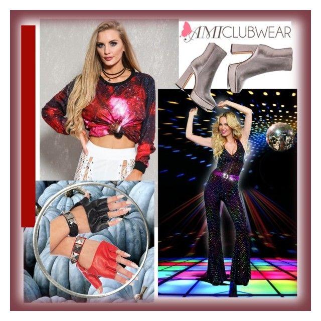 """AMICLUBWEAR #10-V"" by nizaba-haskic on Polyvore featuring moda i Alexandre Birman"