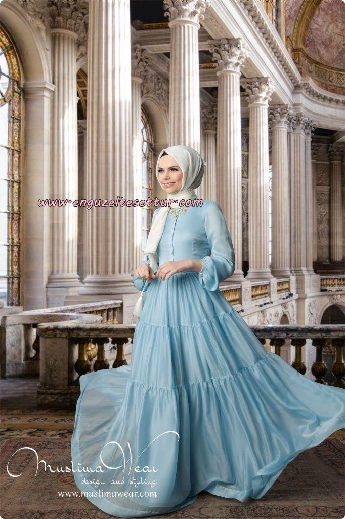Muslima Wear 2014-2015 Elbise Etek Ceket Bluz Şal Modelleri