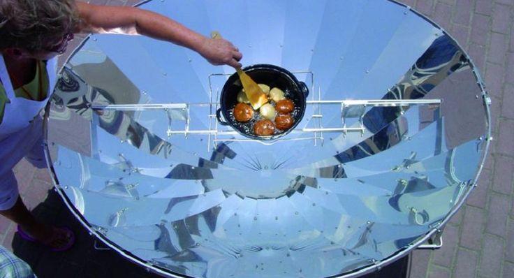 Un nuevo invento para cambiar el mundo, cocinar con luz solar - http://www.renovablesverdes.com/nuevo-invento-cambiar-mundo-cocinar-luz-solar/