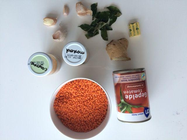 Indiase linzensoep recept