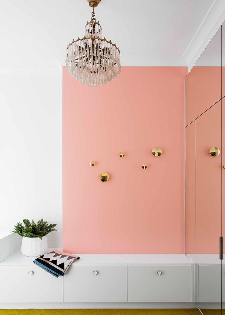 Pink Dressing room | Home Beautiful Magazine Australia