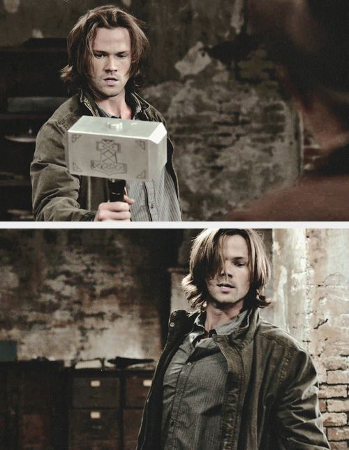 Sam Winchester - to me he'll always be the guy from Gilmore Girls <3 @Queenie Ramchandani