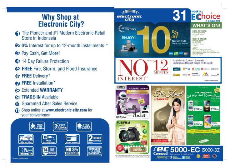 Store Catalogue 31  periode 3-9 August 2013