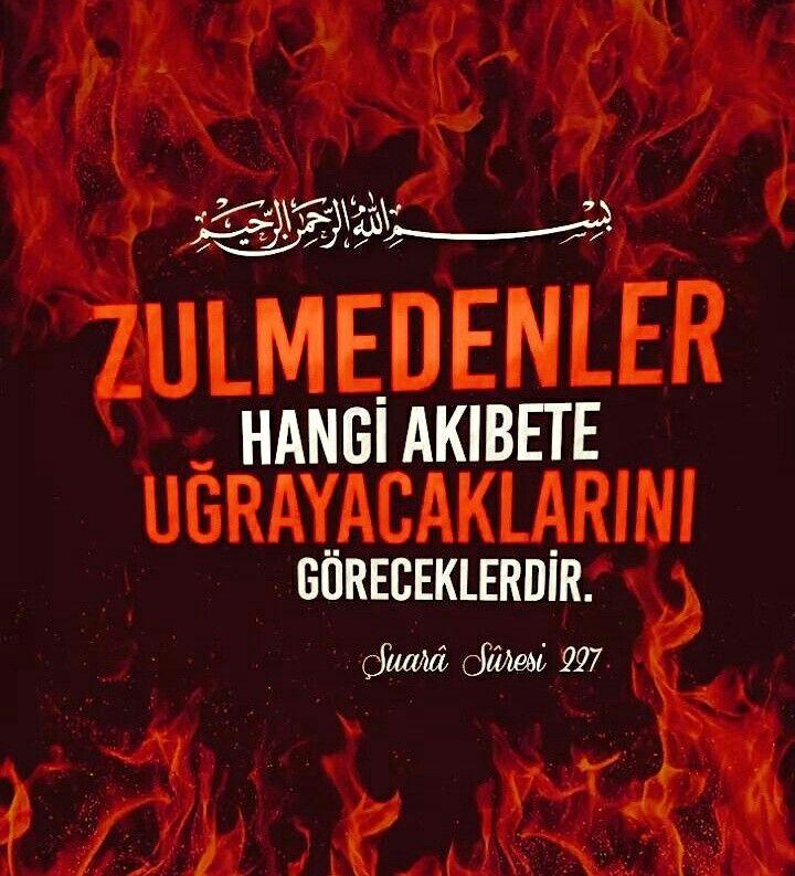 ☝Görecekler #zulüm #işkence #akibet #zalim #islam #müslüman #türkiye #ayet #ilmisuffa