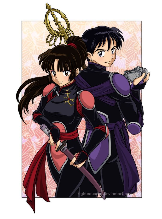 47 best miroku sango images on pinterest inuyasha for Demon slayer