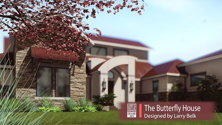 Lumion 7 Dream Home Animation #2 - The Butterfly House